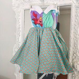 Disney ARIEL THE LITTLE MERMAID Fairytale Dress